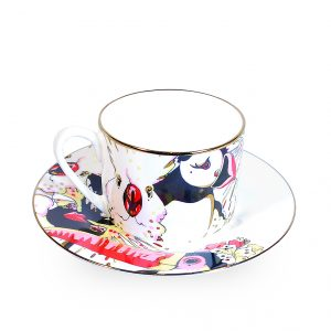 Fine Bone China Cup and Saucer 'Rare Bird'