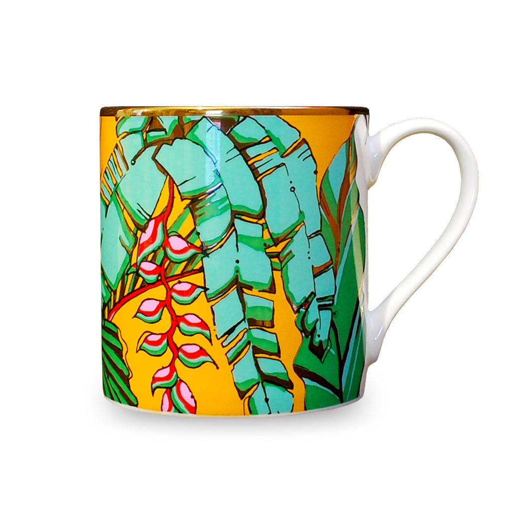 Fine Bone China Mug 'Shangri La'
