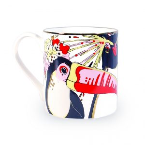 Fine Bone China Mug 'Rare Bird'