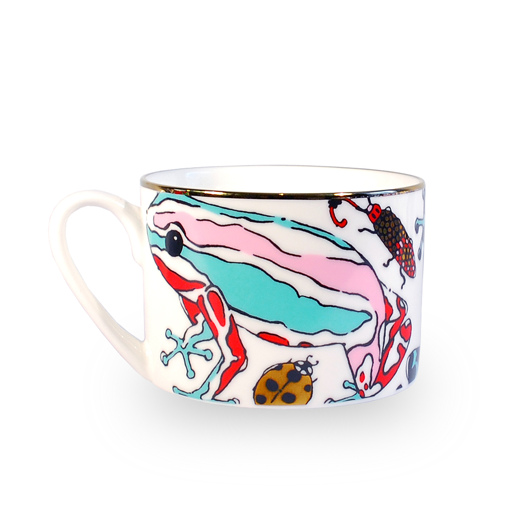 Fine Bone China Cup 'Fatal Attraction'