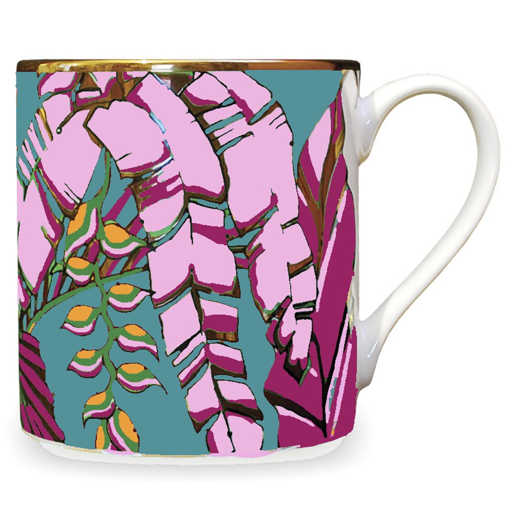 palm print china mug Harvest house of hopstock