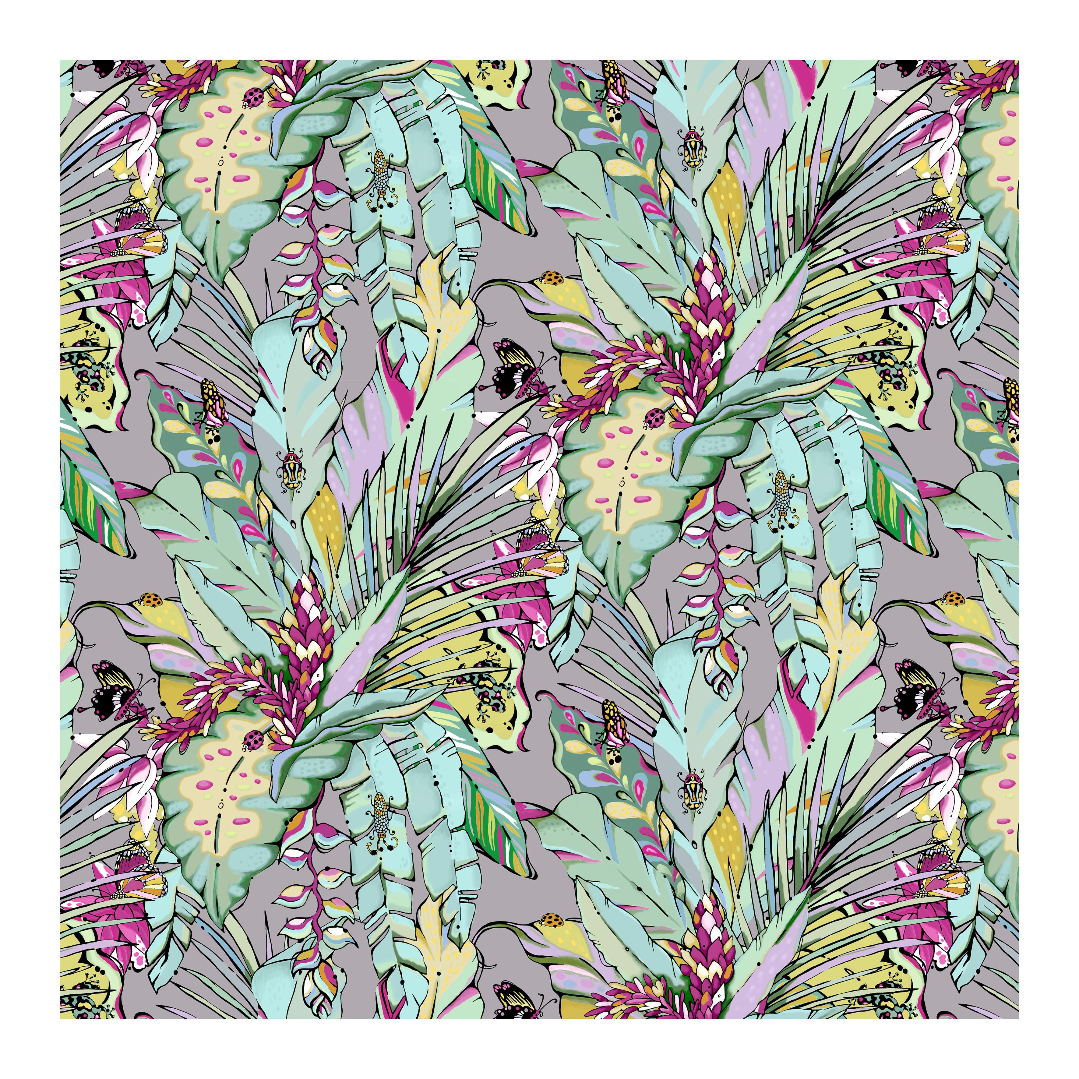 tropical jungle wallpaper tropicana dawn house of hopstock
